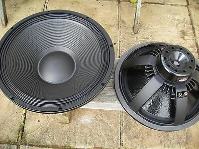 B&C SPEAKERS 18NBX100-4(4ohm) PAIR like 18TBX100 Beyma,BMS
