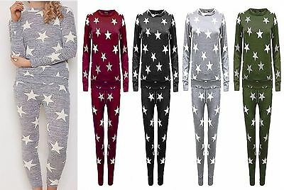 Ladies Daughter Mother 2Pc Melange Lounge wear Tracksuit Jogger set Kid/Plussize