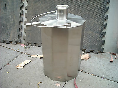 Jaybart 666 Camping Hot Water Unit  Forever Hot Water - Stainless Steel