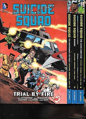 Suicide Squad Volumes 1-4 DC Comics TPBs 1st Printings