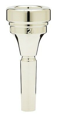 Denis Wick Tenor Horn silver plated mouthpiece 2A