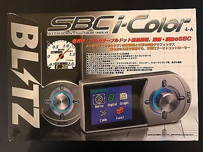 Blitz SBC I-Color Boost Controller Brand New In Box Cheapest on Ebay