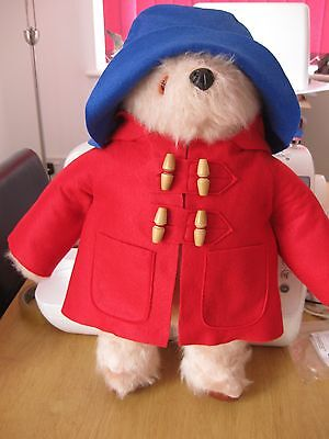 "Coat,Hat and free label for 18/19/20"" Vintage Paddington  (choose your colours )"