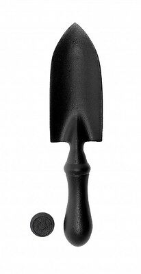 Door Knocker Black Cast Iron Trowel 7 H x 1 5/8 W | Renovators Supply