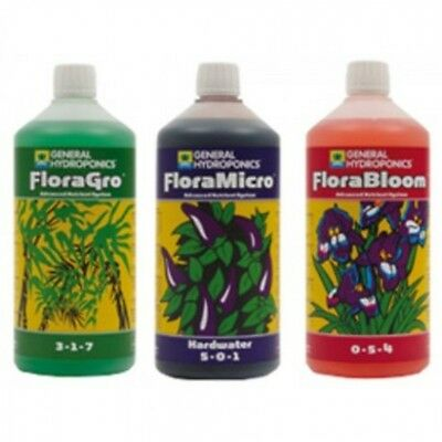 General Hydroponics-Ghe Flora Grow Micro Hw Bloom 1L