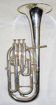 Yamaha Maestro Tenor Horn in Silver Plate (Pre-owned)