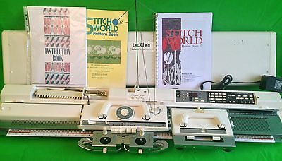 Brother electroknit KH 965 knitting machine complete serviced and tested