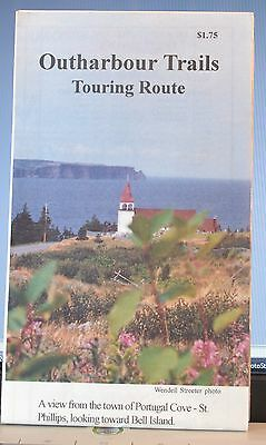 Newfoundland Outharbour Trails Touring Route Folded Map