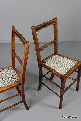 Pair Small Occasional Chairs