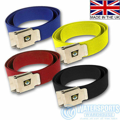 Scuba Divers Weight Belt With Stainless Quick Release Buckle- Made In Britain