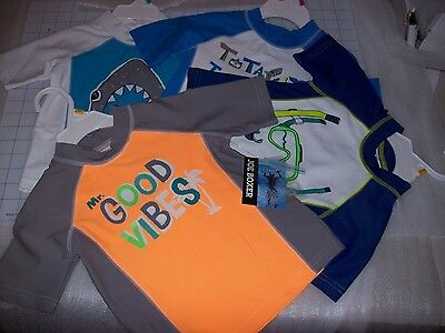 Boys Toddler Joe Fresh Swim Shirts Multiple Colors / Sizes New With Tags Msrp$20
