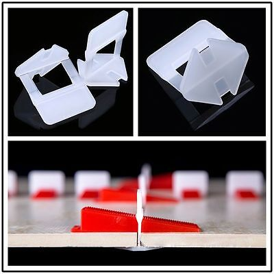 Tile Spacers Leveling System 200 Clips Wall Floor Spacers Wall Floor Flat Tools