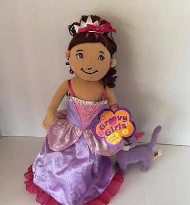 Groovy Girls Princess Ariana  Special Edition Doll W Her Cat W Tags