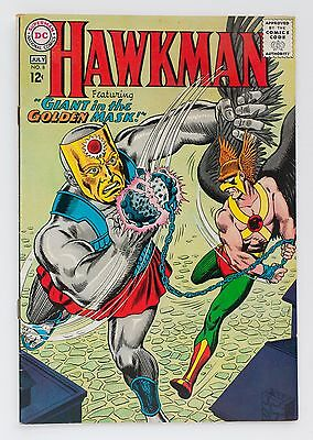 Hawkman No. 8 Giant in the Golden Mask F+ DC Comic Book 1965
