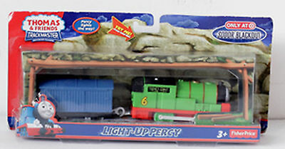 Trackmaster Thomas & Friends Target Store Special Light Up Percy Motorized Train