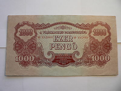 Banknote Ungarn Rote Army
