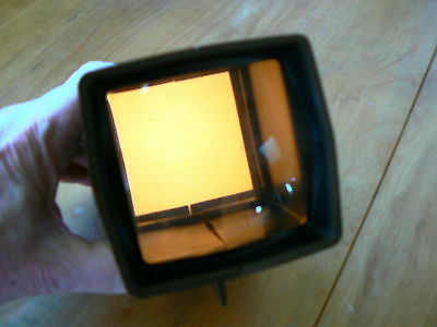 PANA - VUE 35mm SLIDE VIEWER WITH BACK LIGHT
