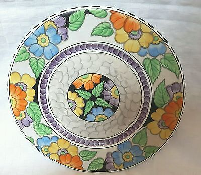 Stunning Maling GLORIA Pattern Large Display Plate 6096 c1936 Good Condition
