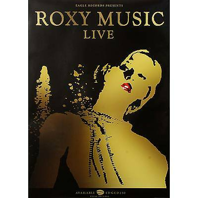 Roxy Music Domestic Poster