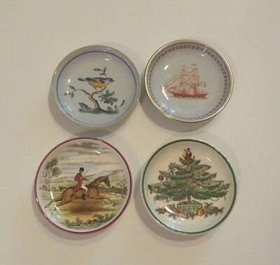 Group/4 Antique Copeland Spode Butter Pats - Instant Collection!