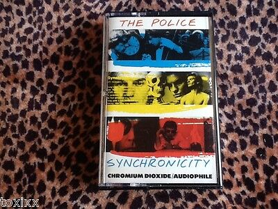 The Police Synchronicity - TESTED Rock Cassette