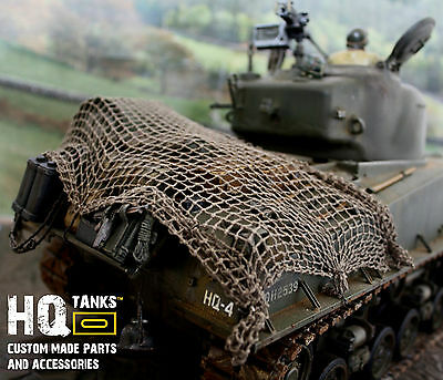 1/16 Scale RC Tanks, Vehicles or Diorama Cargo/Camouflage Netting