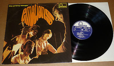 THE PRETTY THINGS Emotions LP FONTANA/Pop Legends 1967 HOLLAND reissue+stereo