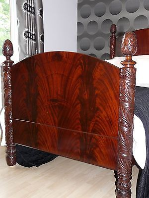 Colonial Mahogany Antique Bed