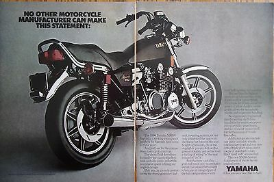 Yamaha Motorcycle Advertisement-1980 XS850 Special