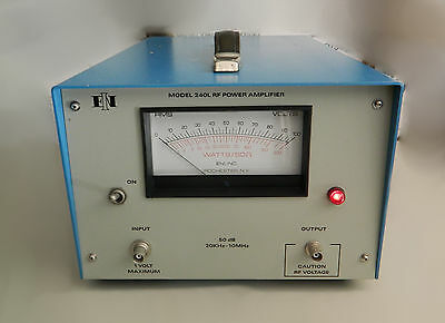 ENI Model 240L RF Power Amplifier 50 dB 20KHz-10MHz