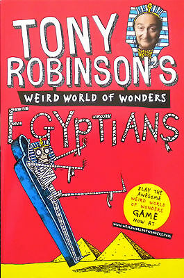 Egyptians Weird World of Wonders children's book new