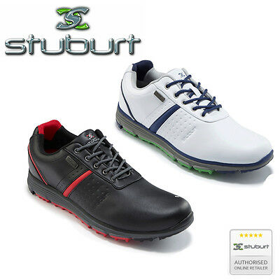 Stuburt Cyclone Impermeabile Casual Scarpe Da Golf Spikeless Uomo 16 Stagioni