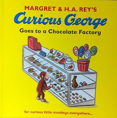 Curious George Goes to a Chocolate Factory children's picture story book new