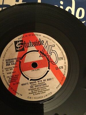 invitations whats wrong with me baby stateside demo Northern Soul Classic