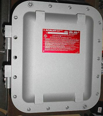 new Adalet xce-081006-n4 class 1 div 1 explosion proof enclosure