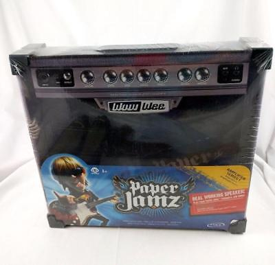 NEW Paper Jamz Instant Rock Star AMP  Black Amplifier Paper WOW WEE Style 4
