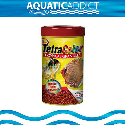 Discus, Angelfish Tetracolor Fish Food - Tetra Color Tropical Granules 300g