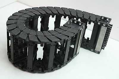 "Igus E6-52 Series Energy Chain Cable Chain Cable Carrier 32"" Long x 6"" x 2.5"""