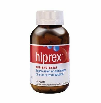 Hiprex Urinary Tract Antibacterial 100 Tablets