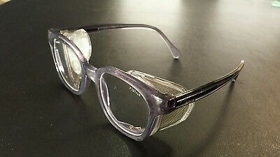 Bouton Traditional Safety Glasses Clear Lens Mesh Side Shields Z87 249-5907-400