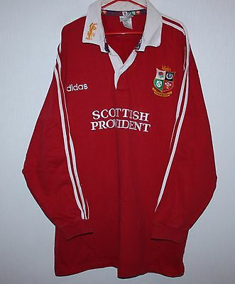 Vintage 1997 British Lions tour to South Africa rugby shirt jersey Adidas