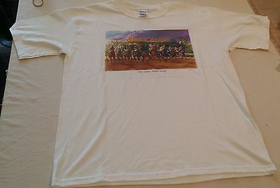 Large Santa Anita Derby T-Shirt 70 years of the Horse Race Track Winners
