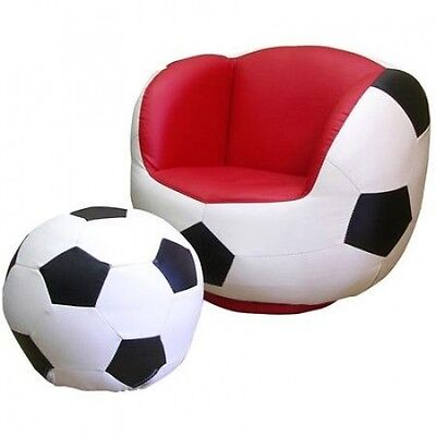 Soccer Chair and Ottoman Set. Shipping Included