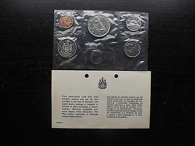 Canadian 1968 Uncirculated Proof Like  6 Coin Set============================