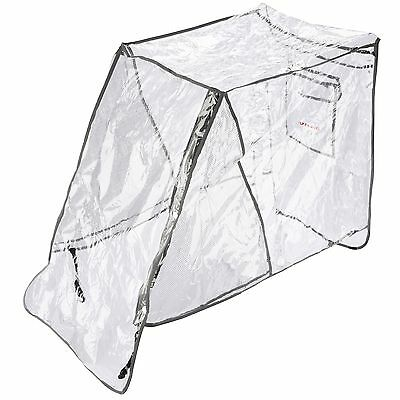 Diono Universal Baby/Child/Kids Pram/Stroller/Buggy Rain Cover, Clear
