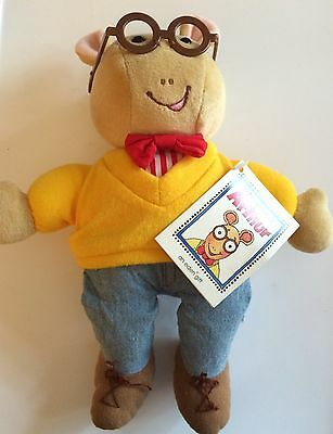 Arthur Plush Stuffed Character Animal Toy Eden 1995 Original Marc Brown With Tag
