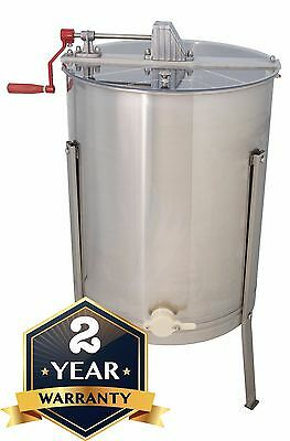 Honey Extractor Four 4 Frame Beekeeper Equipment 304 Stainless Steel