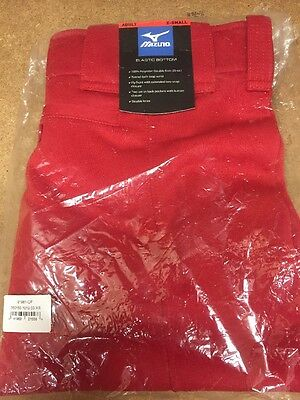 Mizuno Women's Select Belted Low Rise Fastpitch Softball Pants 350150 Red
