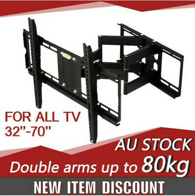 Plasma LCD TV Wall Mount LED Swivel Bracket 32 40 46 50 52 55 60 62 63 64 65 70