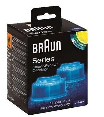 Braun Clean and Renew System Cartridges Refills Series 3 5 7 Shaver 1 Pack